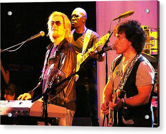 Acrylic Print featuring the photograph Daryl Hall And Oates In Concert by Alice Gipson