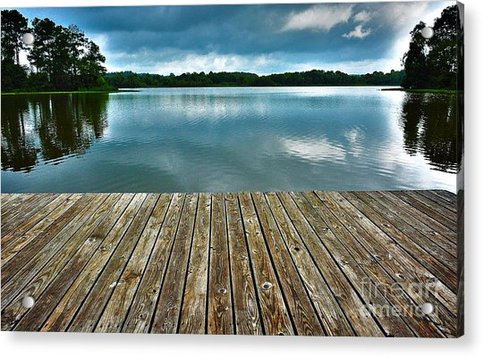 Day At The Lake Acrylic Print