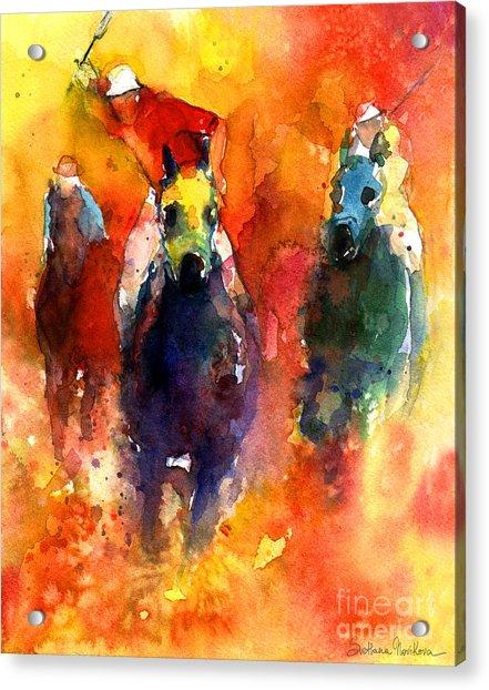 Derby Horse Race Racing Acrylic Print