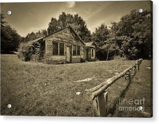 Deserted House Acrylic Print by Mina Isaac