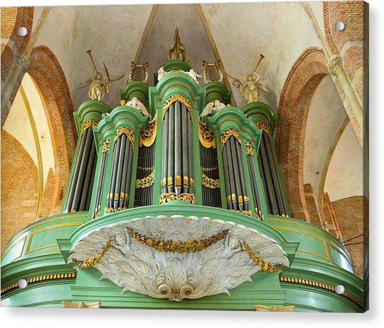 Deventer Organ Acrylic Print