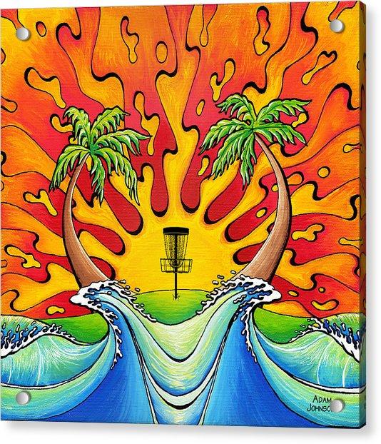 Disc Golfers Paradise Acrylic Print