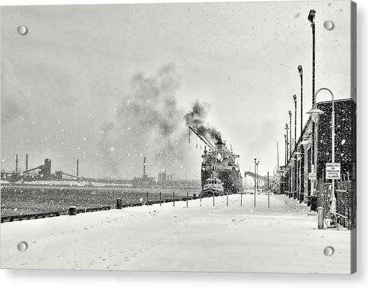 Acrylic Print featuring the photograph Dockyard by Garvin Hunter