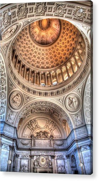 Domed Ornate Interior Acrylic Print