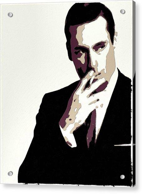 Don Draper Poster Art Acrylic Print