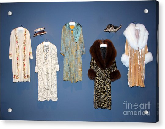 Downton Abbey Clothes Acrylic Print