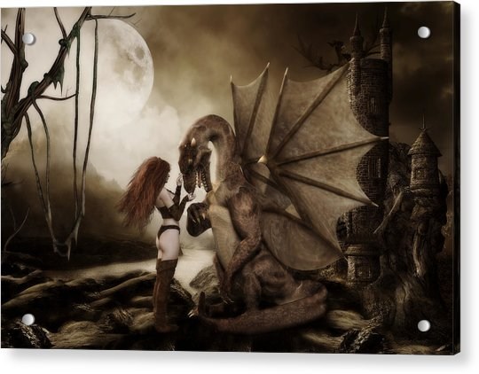 Dragon Whispers  Acrylic Print