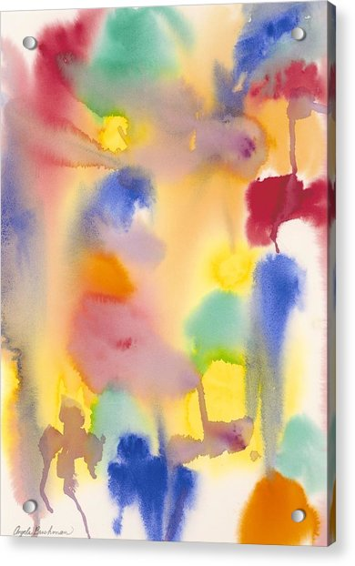Dreaming In Color Acrylic Print