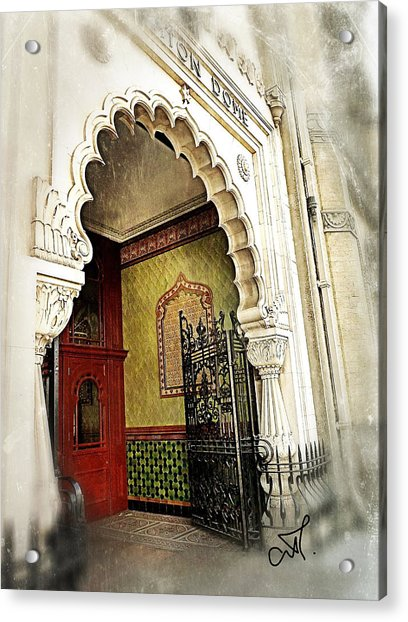 Doorway To Stardom Acrylic Print by Connie Handscomb