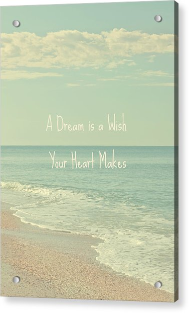 Dreams And Wishes Acrylic Print
