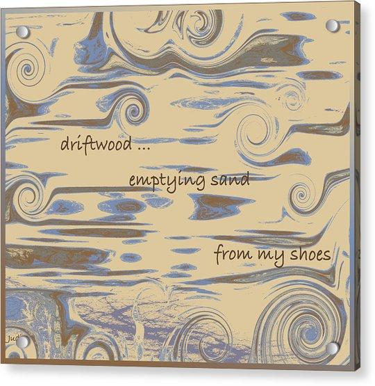 Driftwood Haiga Acrylic Print