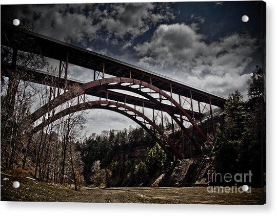 Dual Arched Bridge Acrylic Print