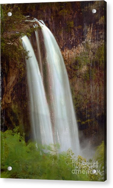 Duel Falls Acrylic Print
