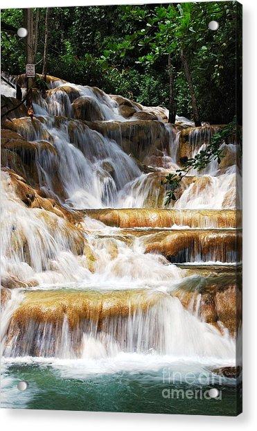 Dunn Falls _ Acrylic Print