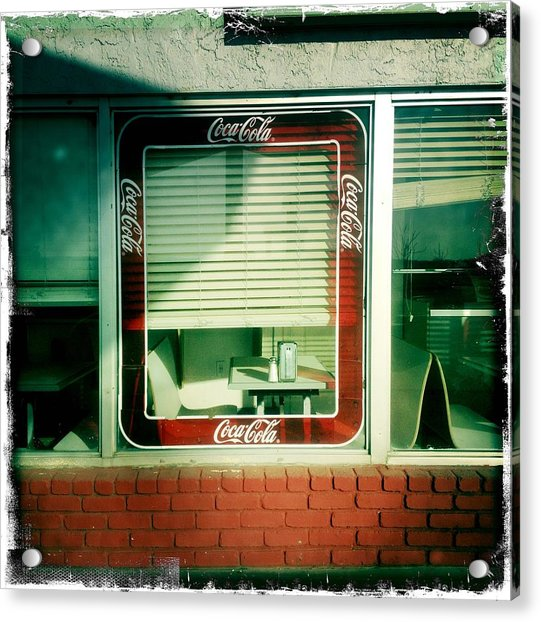 Dunnigan Cafe Acrylic Print