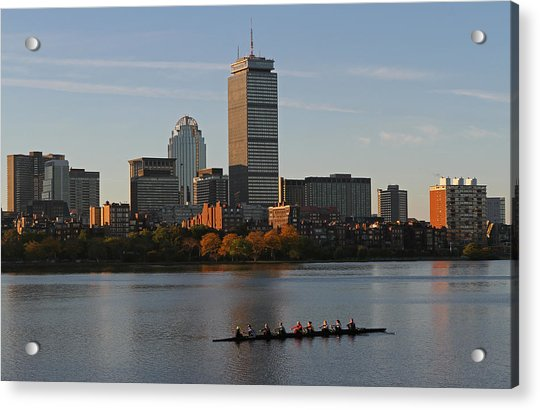 Early Morning Preparation For The Head Of The Charles  Acrylic Print