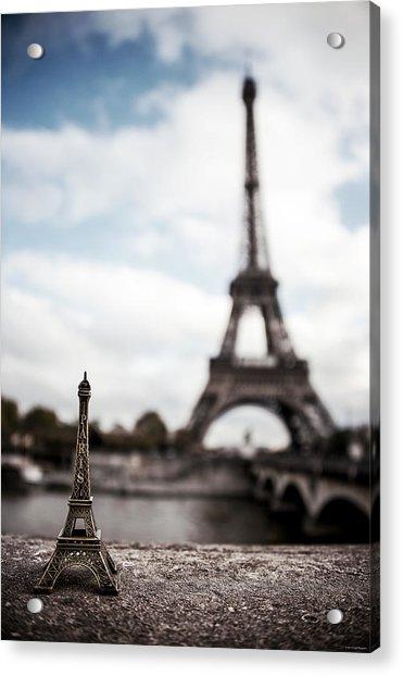 Eiffel Trinket Acrylic Print