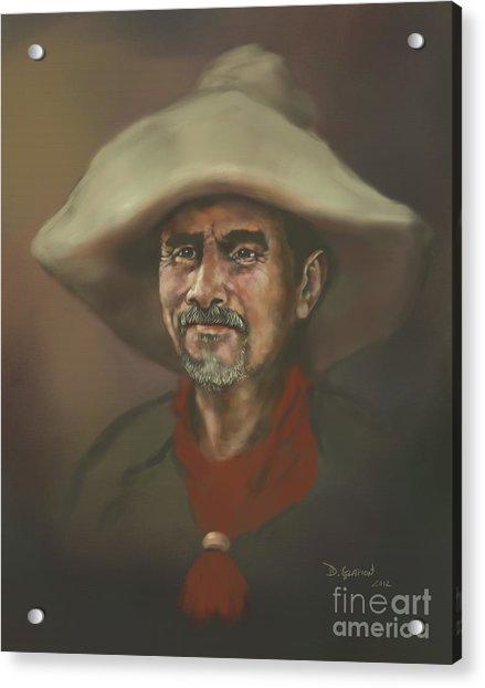 Acrylic Print featuring the digital art El Mestizo by Dwayne Glapion