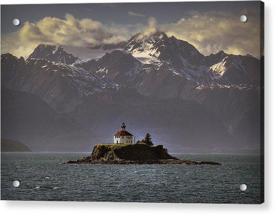 Eldred Rock Lighthouse Alaska Acrylic Print