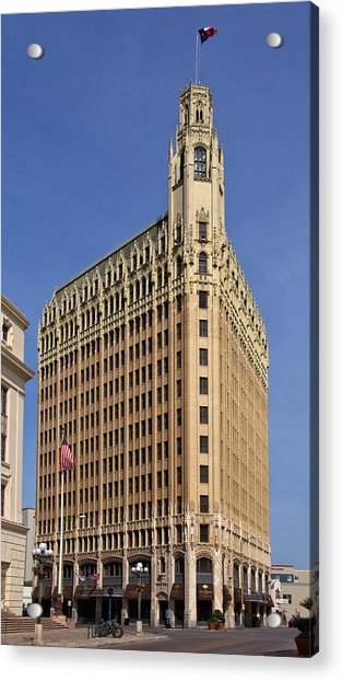 Acrylic Print featuring the photograph Emily Morgan Hotel by Jemmy Archer