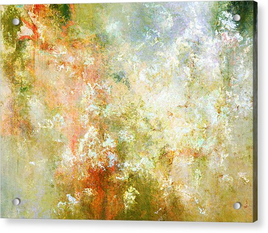 Enchanted Blossoms - Abstract Art Acrylic Print