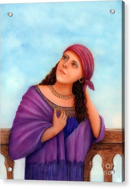 Enchanting Carmelita Acrylic Print