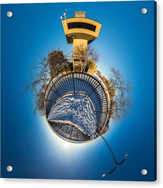 Erie Basin Marina Observation Tower Acrylic Print