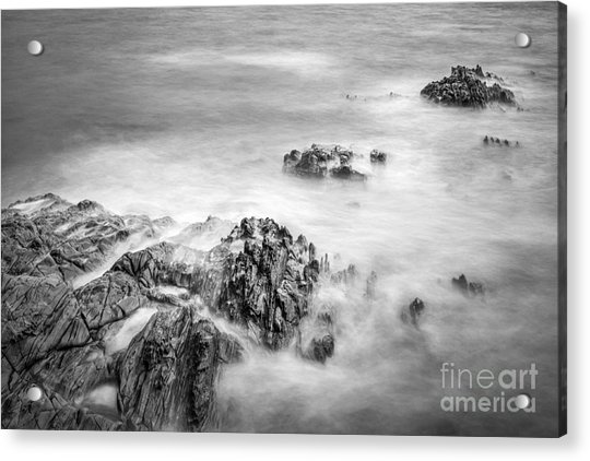 Estacas Beach Galicia Spain Acrylic Print