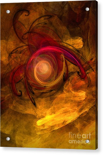 Eternity Of Being-abstract Expressionism Acrylic Print