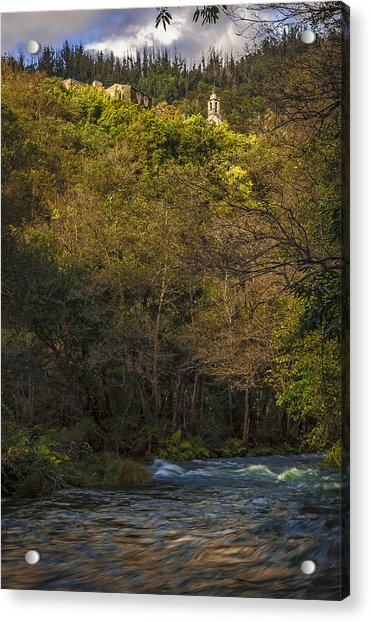 Eume River Galicia Spain Acrylic Print