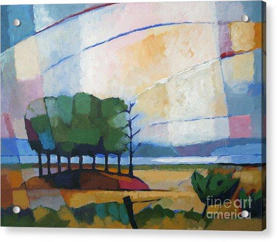 Evening Landscape Acrylic Print