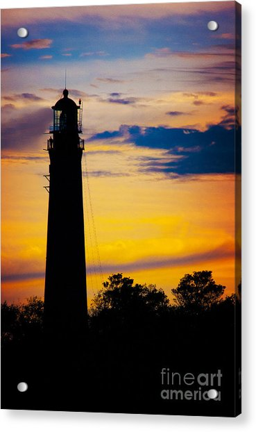 Evening Light Acrylic Print