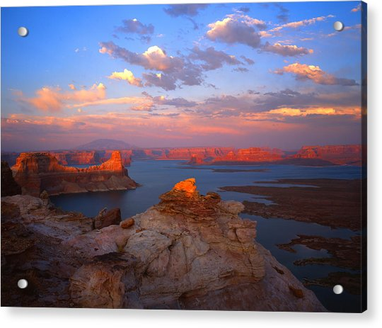 Evening On The Lake Acrylic Print