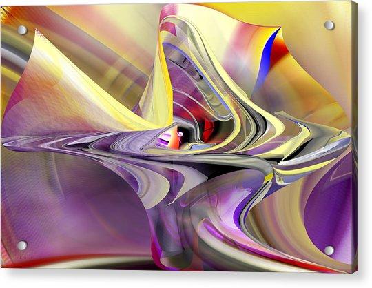 Eye Watcher - Abstract Art Acrylic Print