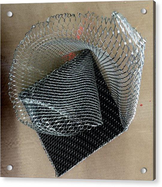 Fabric Of The Universe Acrylic Print