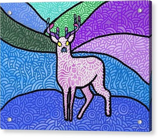Fantasy In The Wild Acrylic Print