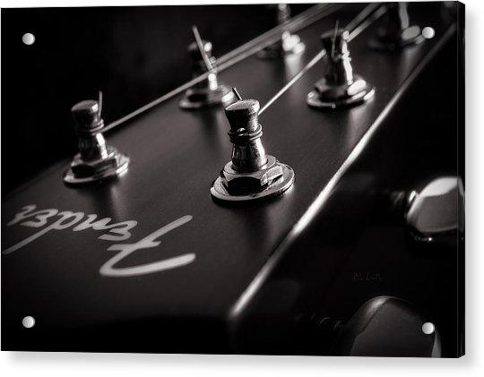 Fender Acoustic I Acrylic Print