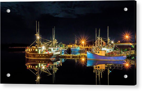 Acrylic Print featuring the photograph Fishing Hamlet by Garvin Hunter