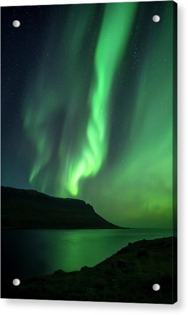 Fjord Night Acrylic Print