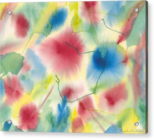 Floral Burst Acrylic Print