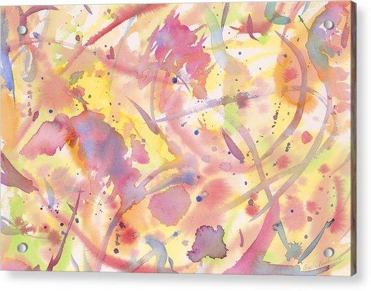 Floral Heaven Acrylic Print