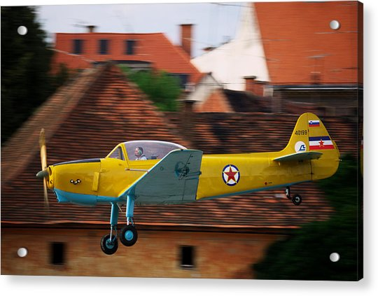 Flying Low Acrylic Print