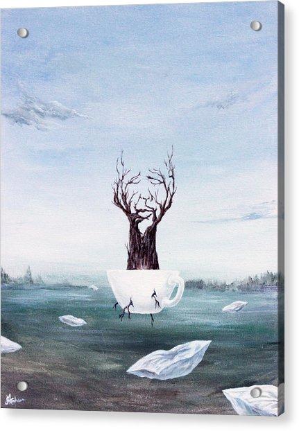 Foglifter Acrylic Print