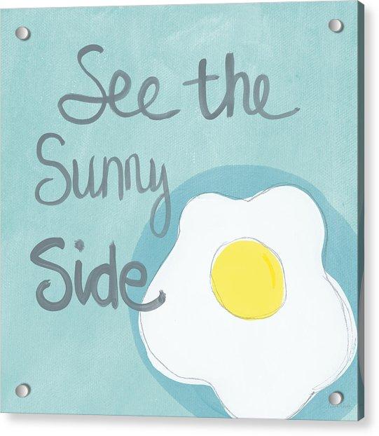 Food- Kitchen Art- Eggs- Sunny Side Up Acrylic Print