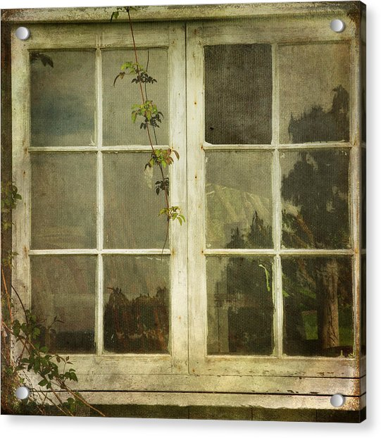 Acrylic Print featuring the photograph Forgotten by Sally Banfill