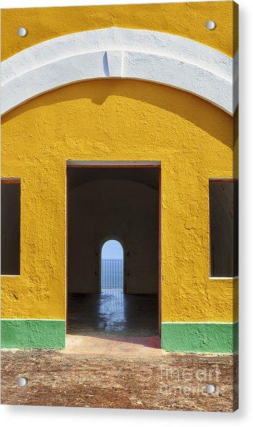 Fort Castillo San Felipe Del Morro Acrylic Print