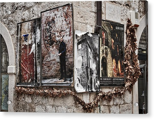 Four Posters Acrylic Print