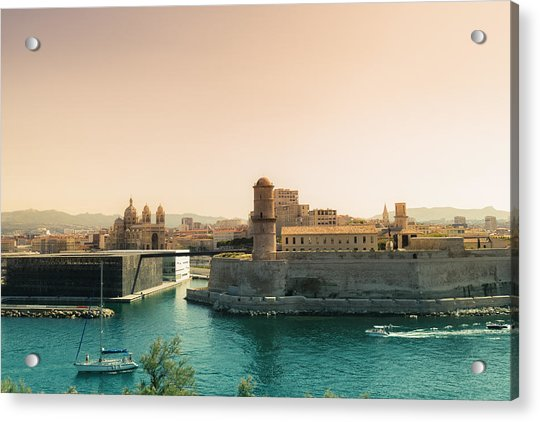 France - Marseille - Port Of Beauty Acrylic Print