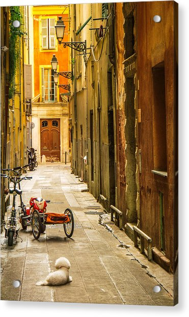 France - Nice - The Little Things Acrylic Print