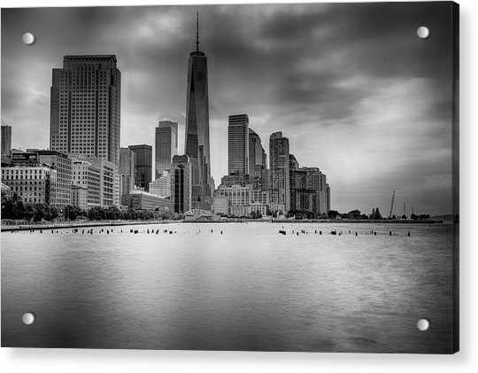 Freedom In The Skyline Acrylic Print